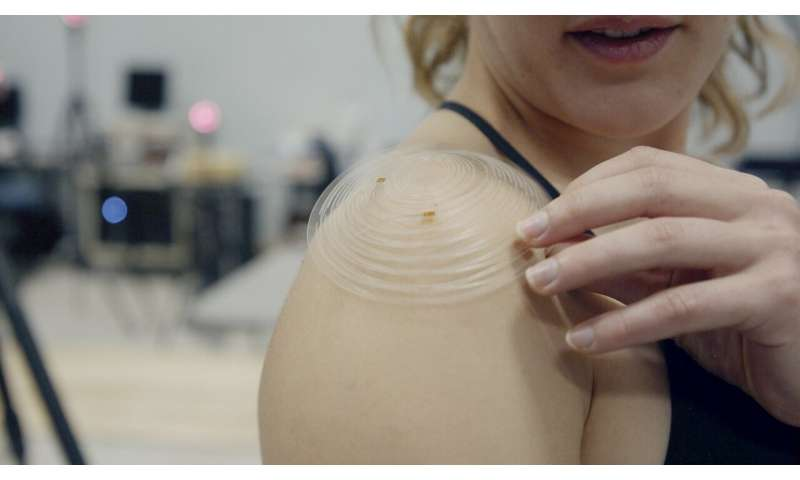 Kirigami sensor patch for shoulders could improve injury recovery, athletic training