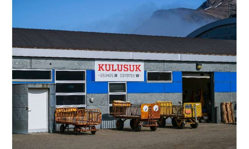 Kulusuk, population 250, has just one airport, one supermarket and one hotel