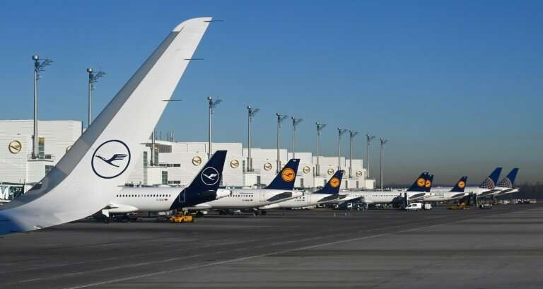 Lack of spare capacity at airports and in the sky will limit growth, Lufthansa warned Thursday