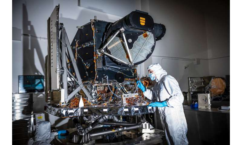 Landsat 9 instrument ready for spacecraft assembly