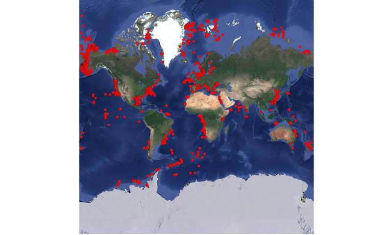 Largest mapping of breathing ocean floor key to understanding global carbon cycle