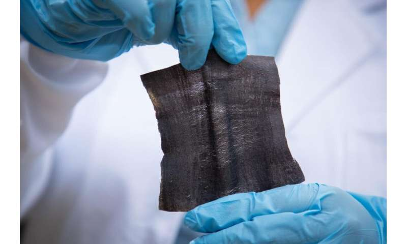 Laser printing tech produces waterproof e-textiles in minutes
