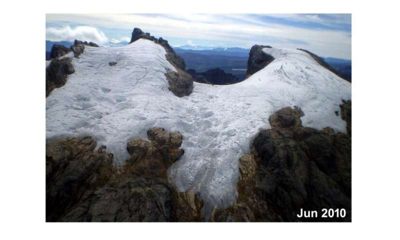 Last remaining glaciers in the Pacific will soon melt away