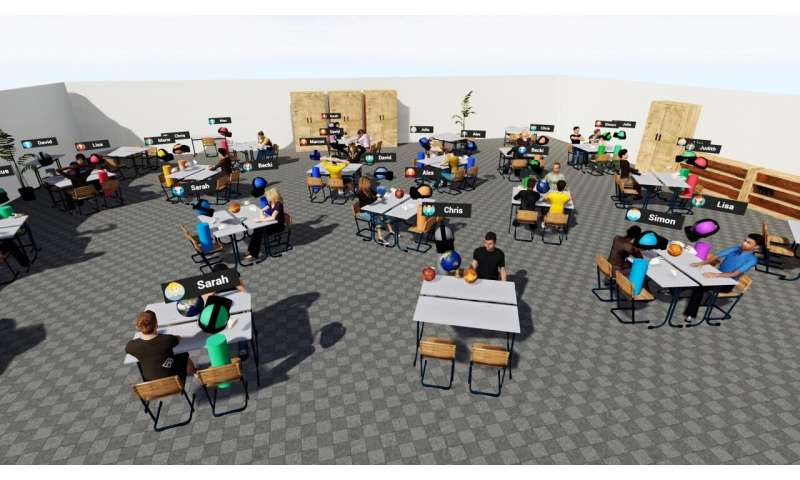 Learning in virtual spaces