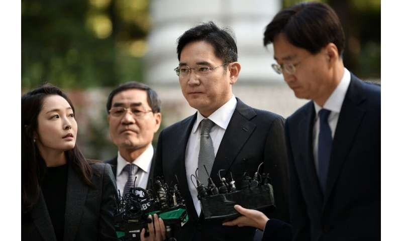Lee Jae-yong is vice chairman of Samsung Electronics and was jailed for five years in 2017 for bribery, embezzlement and other o