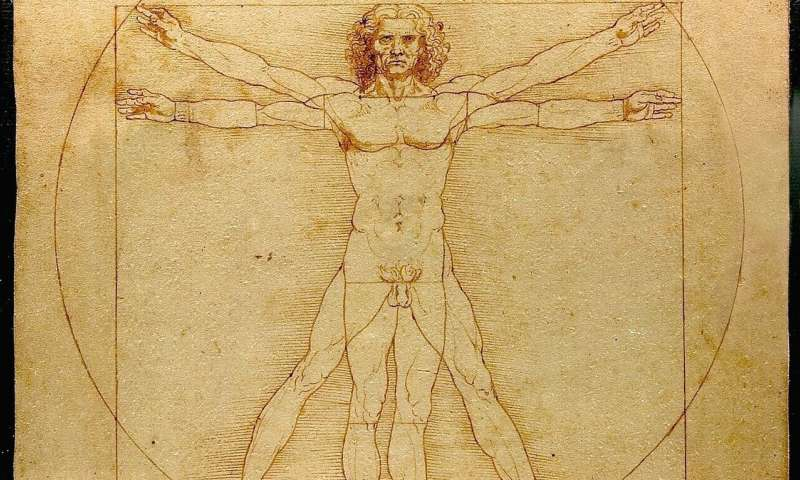 Leonardo da vinci could write with one hand and draw with the other at the same time