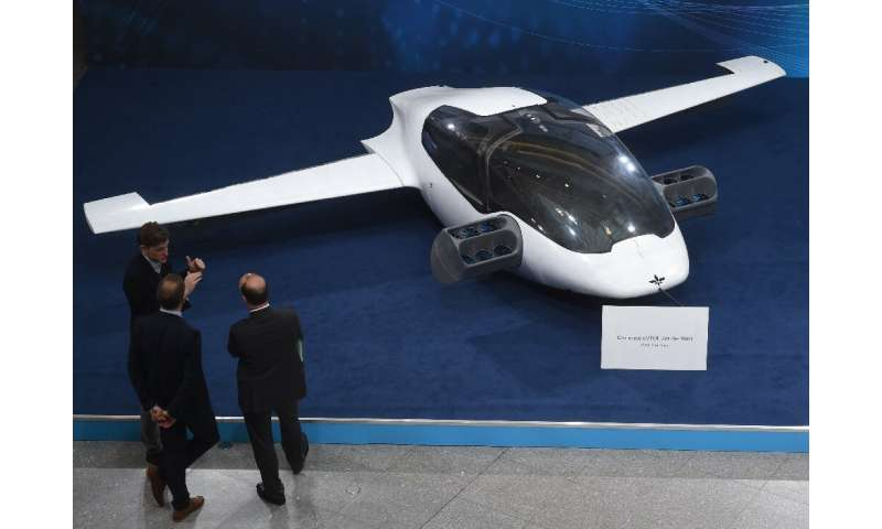 "Lilium, which showed a prototype ""air taxi"" in 2018, says it will offer prices similar to regular taxis but will be fo"