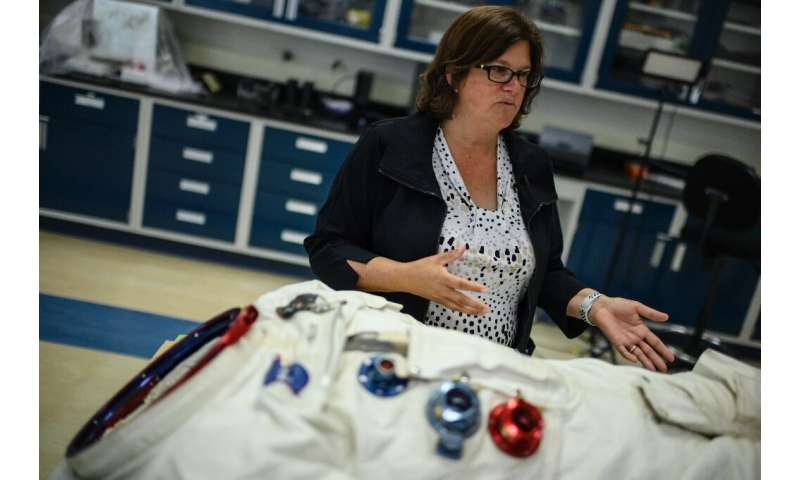 Lisa Young is intimately familiar with Neil Armstrong's spacesuit