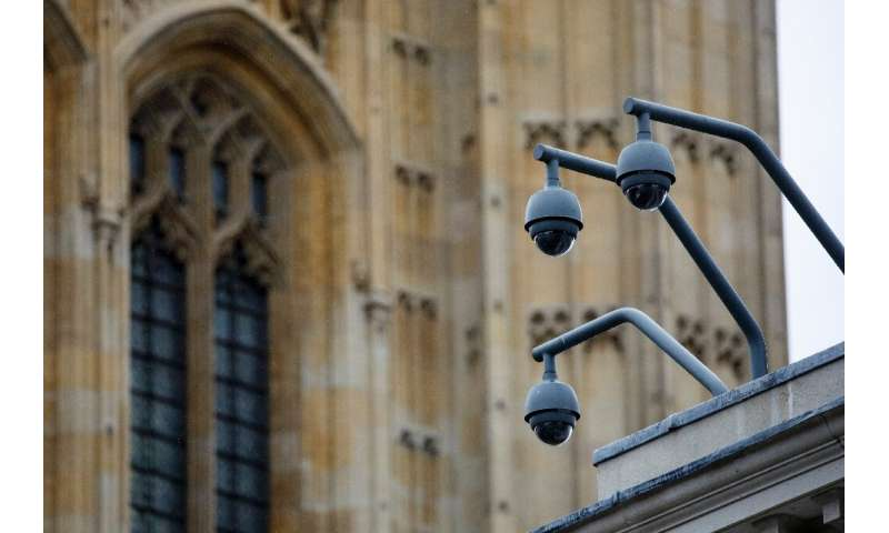 London has 420,000 surveillance cameras, according to a 2017 study by the Brookings Institution think-tank