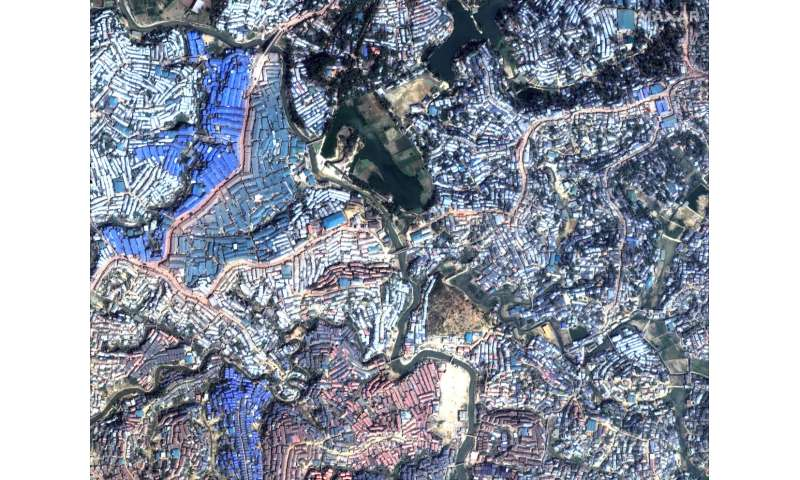 Looking down on a decade: Satellite images tell the stories