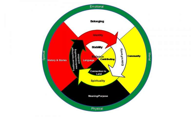 Look to the medicine wheel for mental health, Elders advise in First Nations study