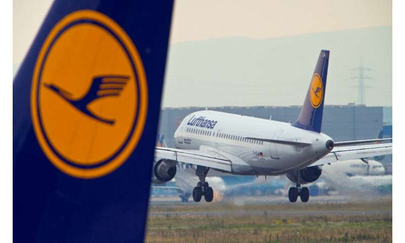 Lufthansa's shares tumbled after a profit warning by the airline
