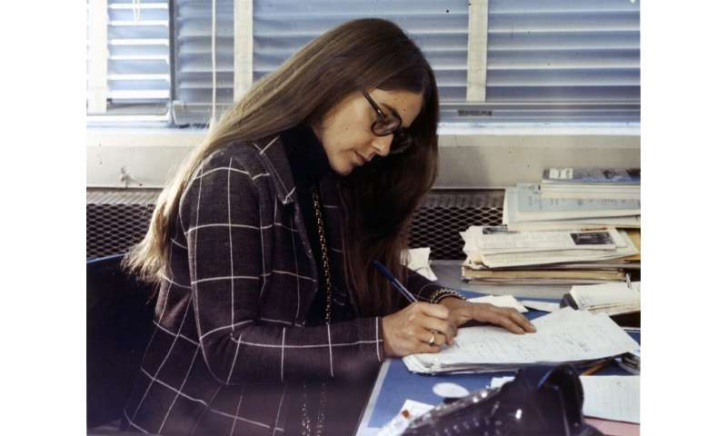 Margaret Hamilton led the team that programmed Apollo's flight computer; their code allowed the machine to prioritize crucial ta