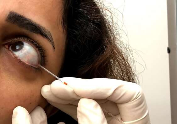 Marker in tear samples could detect diabetes complication