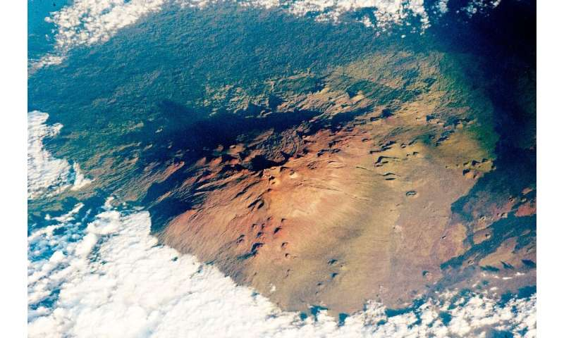 Mauna Kea is volcano is sacred to Native Hawaiians