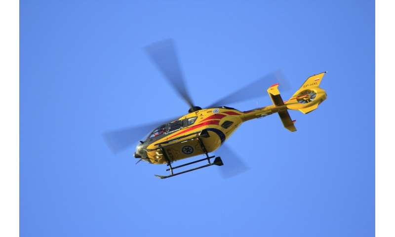 medical helicopter