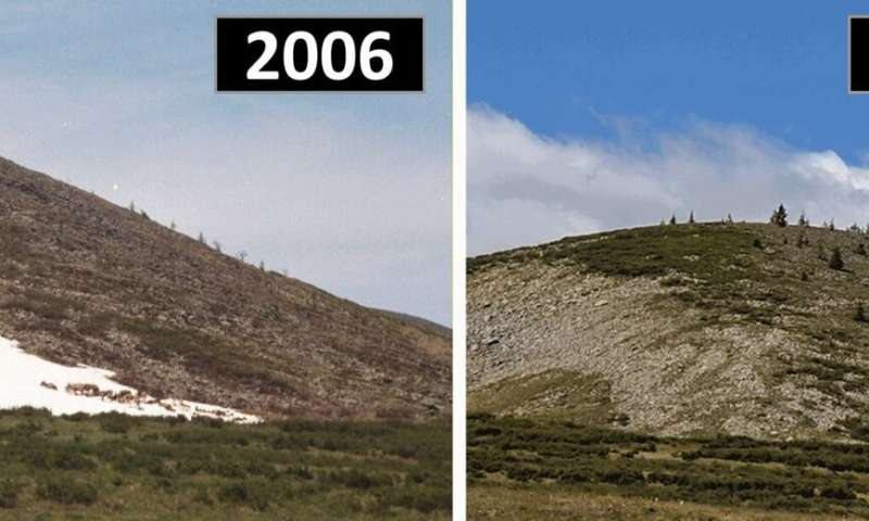 Melting Mongolian ice patches may threaten reindeer pastoralism, archaeological artifacts