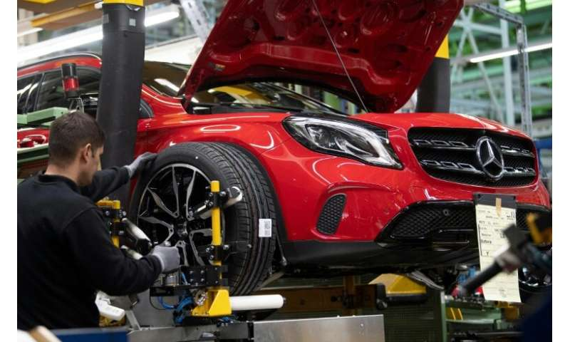 Mercedes sold more vehicles last year, but higher investments and increased costs for raw materials sent profits skidding lower