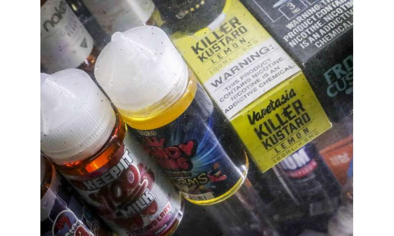 Michigan bans flavored e-cigarettes a day after New York