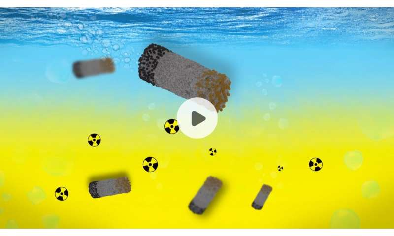 Microrobots clean up radioactive waste (video)