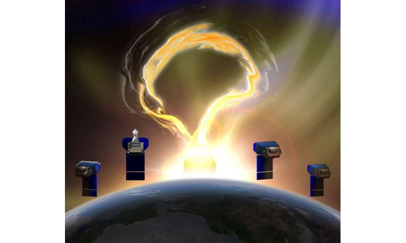 Microsatellites to take never-before-seen look at the young solar wind