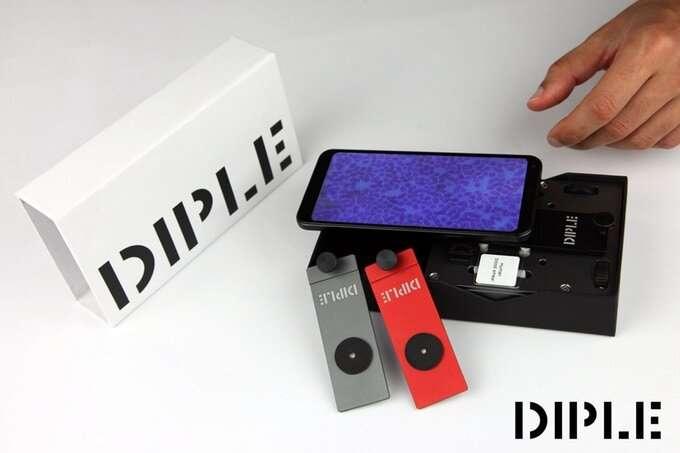 Microscope kit transforms smartphones into lab tools