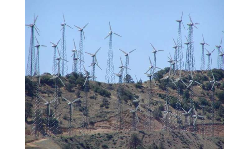 Model helps choose wind farm locations, predicts output