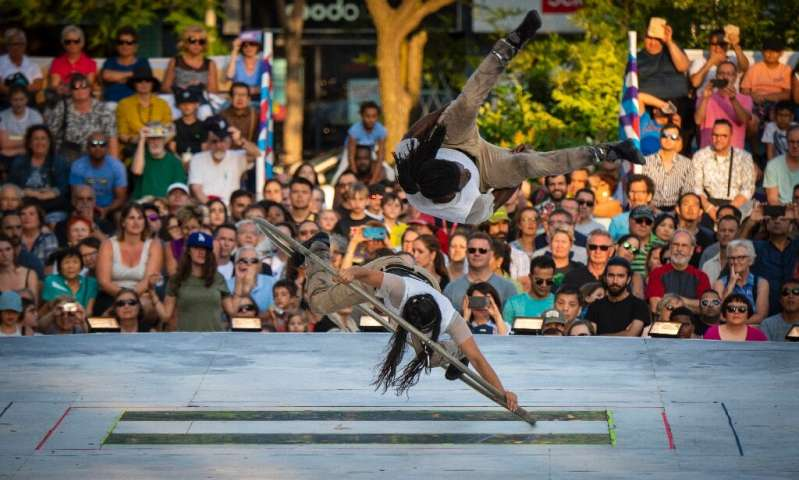 """Montreal has a wealth of """"inventiveness,"""" says Nadine Marchand, the director of the Montreal Cirque Festival"""