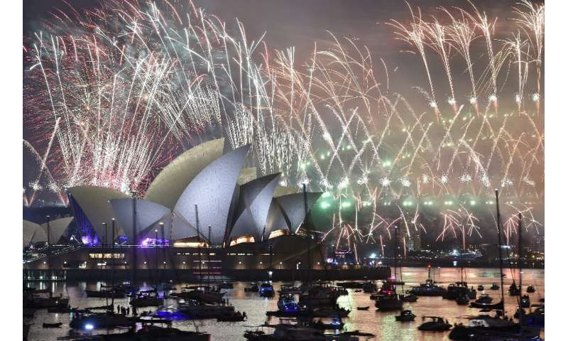 More than 100,000 fireworks will light up the skyline for spectators crowding foreshores and parks