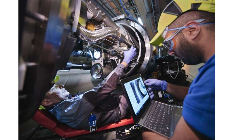 More than a spring-clean for LHC magnets