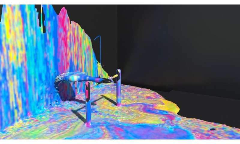 Movement and flow: Simulating complexity of fluids and strands in the virtual world