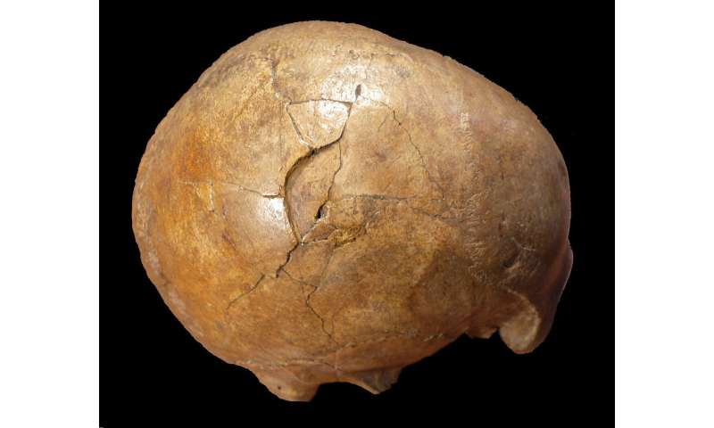 Murder in the Paleolithic? Evidence of violence behind human skull remains