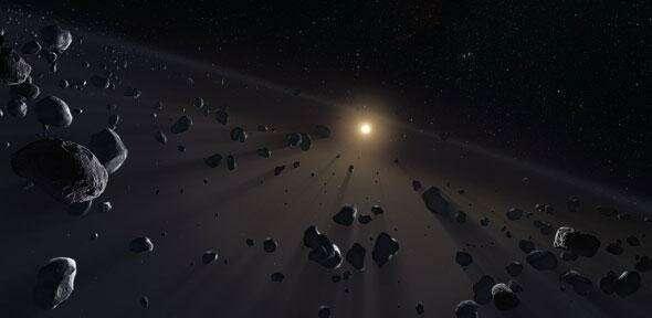 Güneş Sisteminin Dibinde 100'den Fazla Küçük Gezegen…