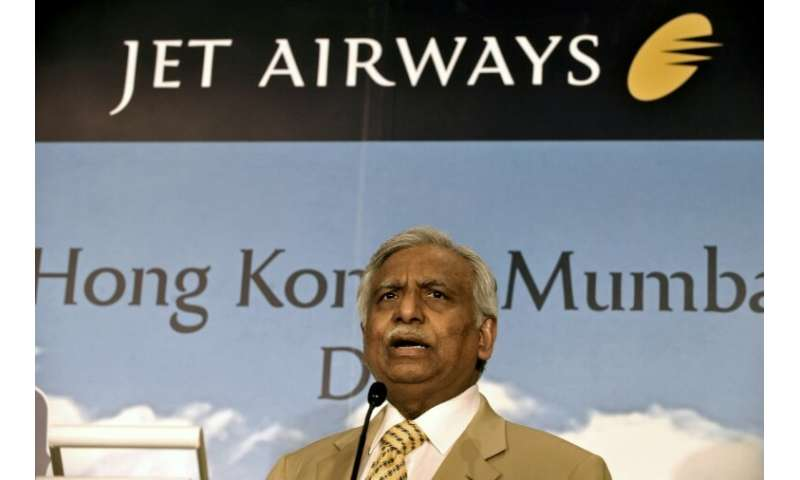 Naresh Goyal, founder of Jet Airways, has stepped down from the company's board, according to a statement