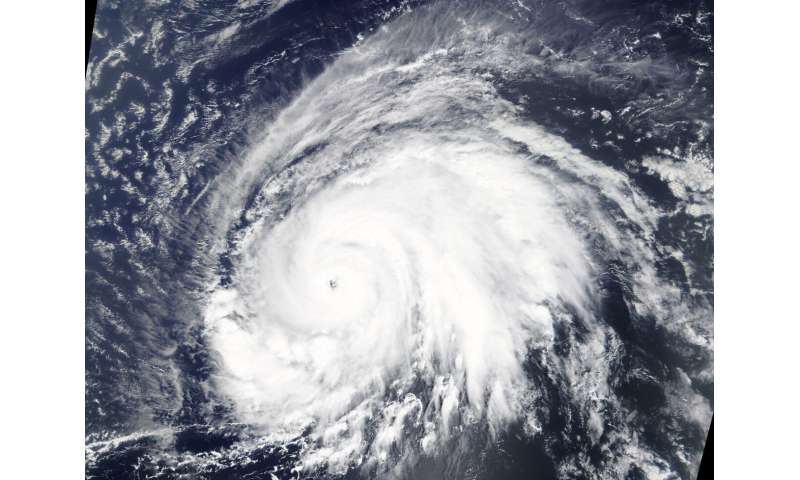 NASA data stares into the eye of powerful hurricane Lorenzo