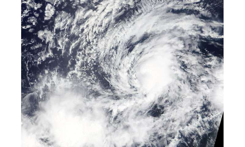 NASA finds a tiny tropical storm Kiko