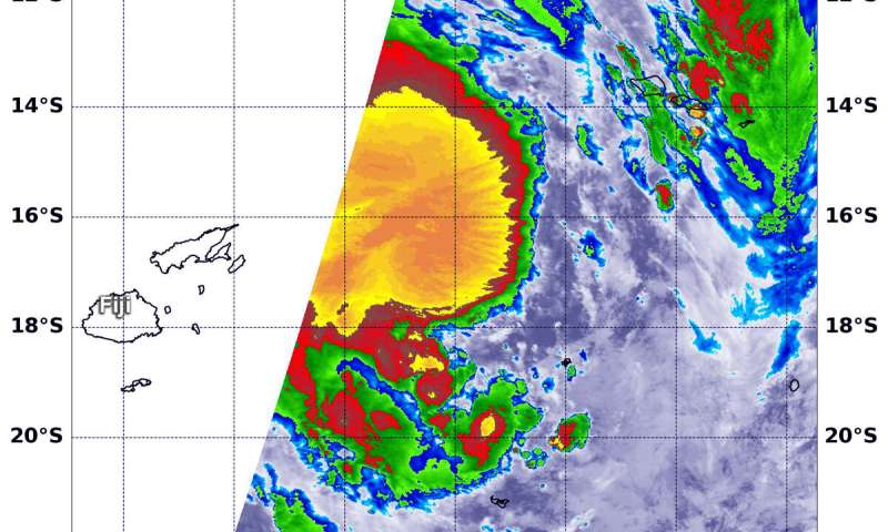 NASA finds heavy rainfall potential in new Tropical Cyclone Pola