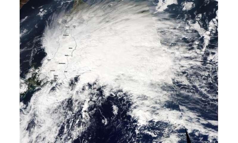 NASA imagery reveals Neoguri now extra-tropical