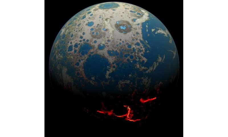 NASA scientists find sun's history buried in moon's crust