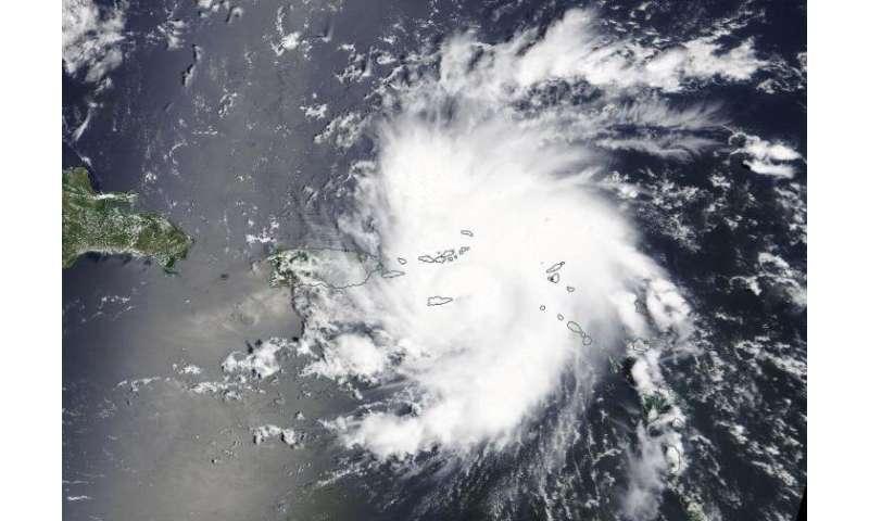 NASA sees Dorian become a hurricane