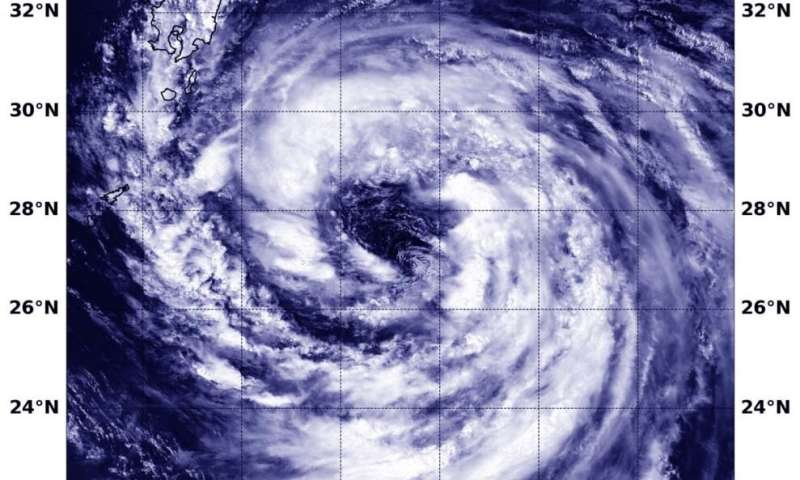 NASA sees wide center in tropical storm Krosa