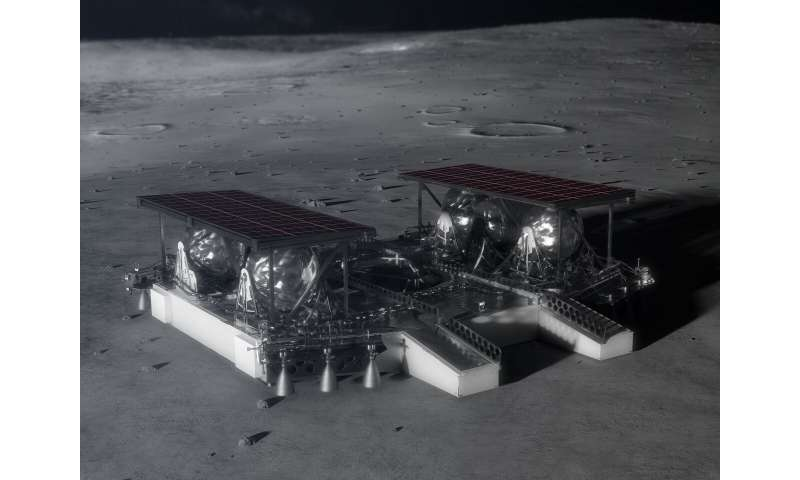 NASA Shares Mid-Sized Robotic Lunar Lander Concept with Industry