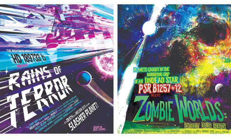 NASA's latest exoplanet posters are a Halloween treat