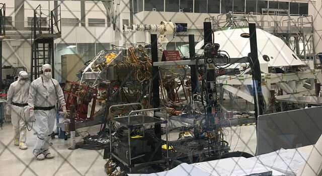NASA's Mars 2020 rover is put to the test