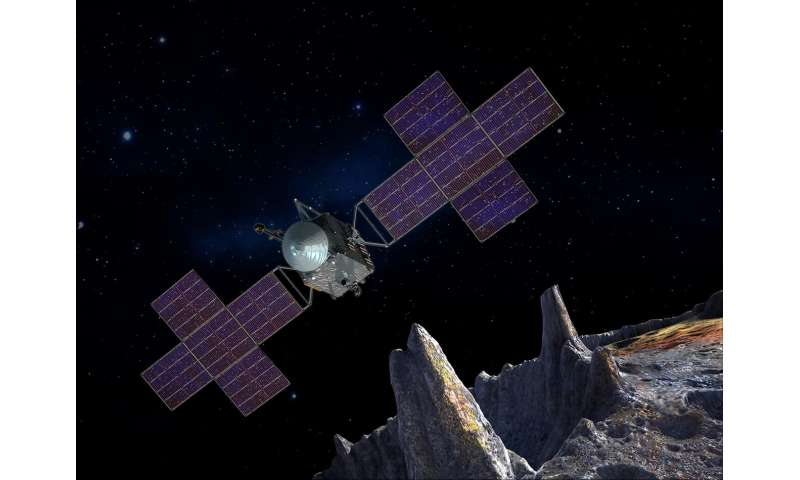 NASA's Psyche mission has a metal world in its sights