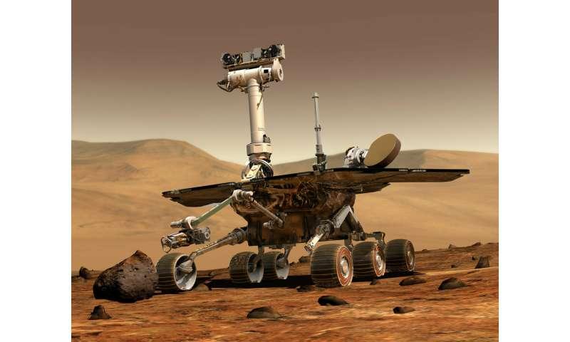 NASA's storm-silenced rover marks 15th anniversary on Mars