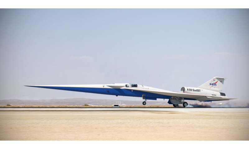 NASA's X-59 quiet supersonic research aircraft cleared for final assembly
