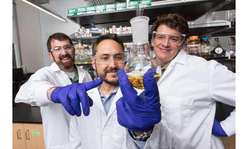 NAU team invents patented technology that speeds wound healing, prevents infection