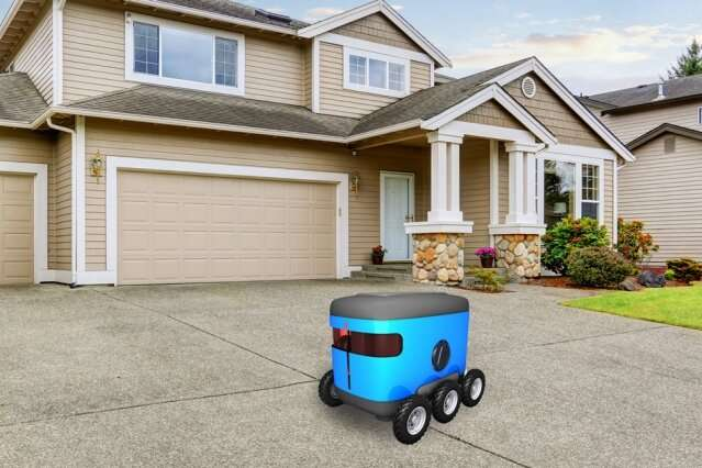 Navigation method may speed up autonomous last-mile delivery