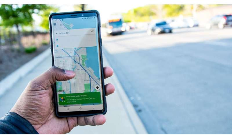 Nearly two-thirds of Uber riders never tip, study finds